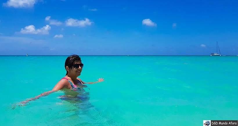 Praia de Eagle Beach em Aruba - Diário de Bordo: cruzeiro pelo Caribe