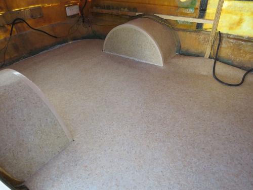 vinyl on trailer floor