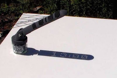 El rellotge solar digital