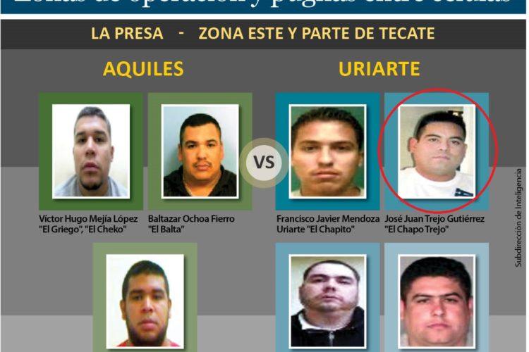 "Asesinan al ""Chapito Trejo"", brazo armado de ""Los Uriarte"""