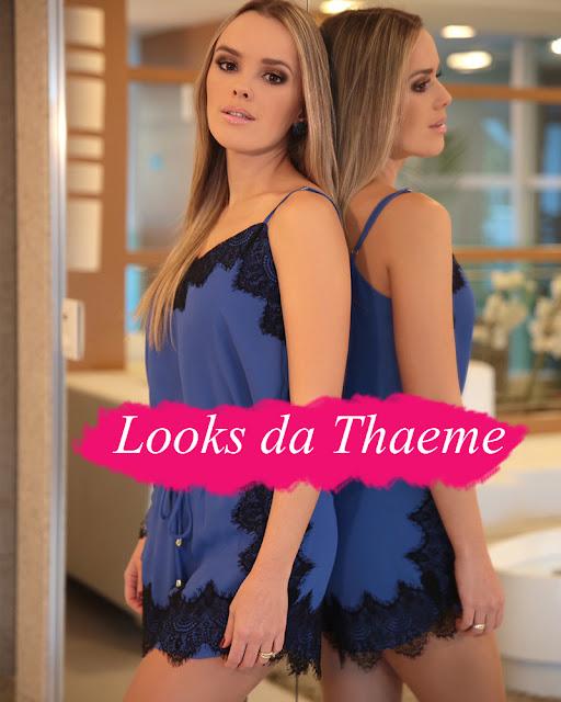 looks da cantora Thaeme