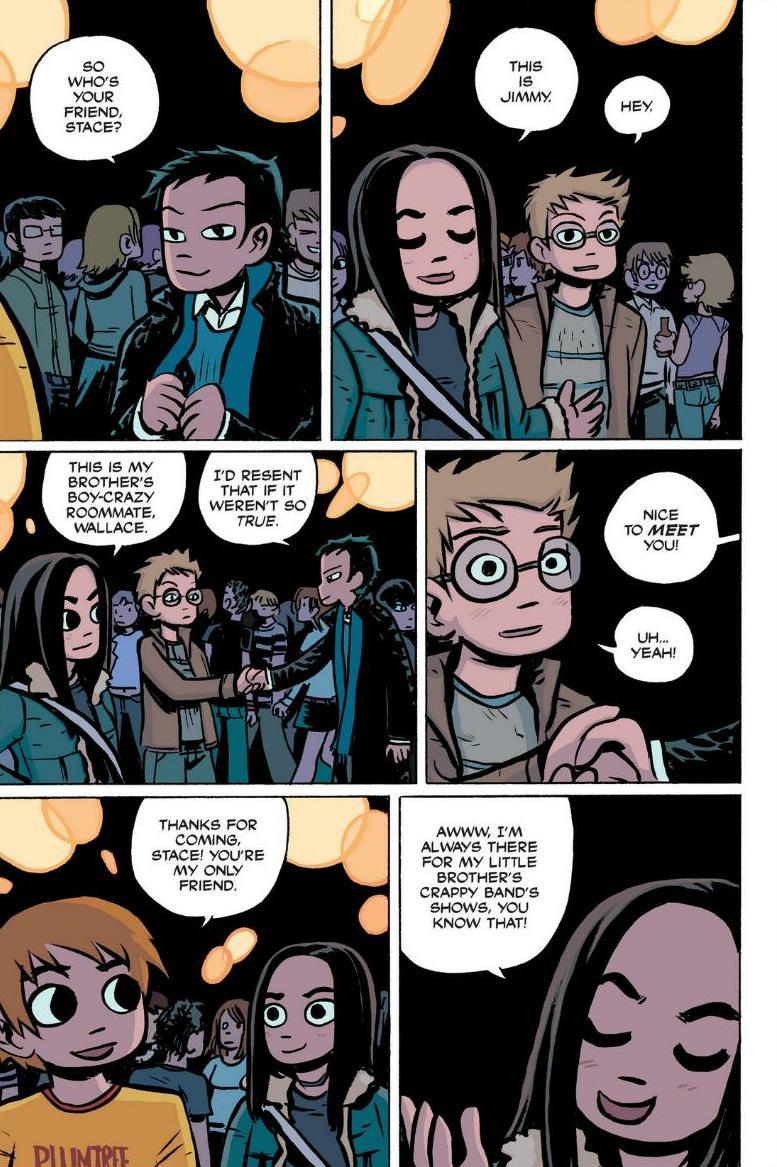 Read online Scott Pilgrim comic -  Issue #1 - 109
