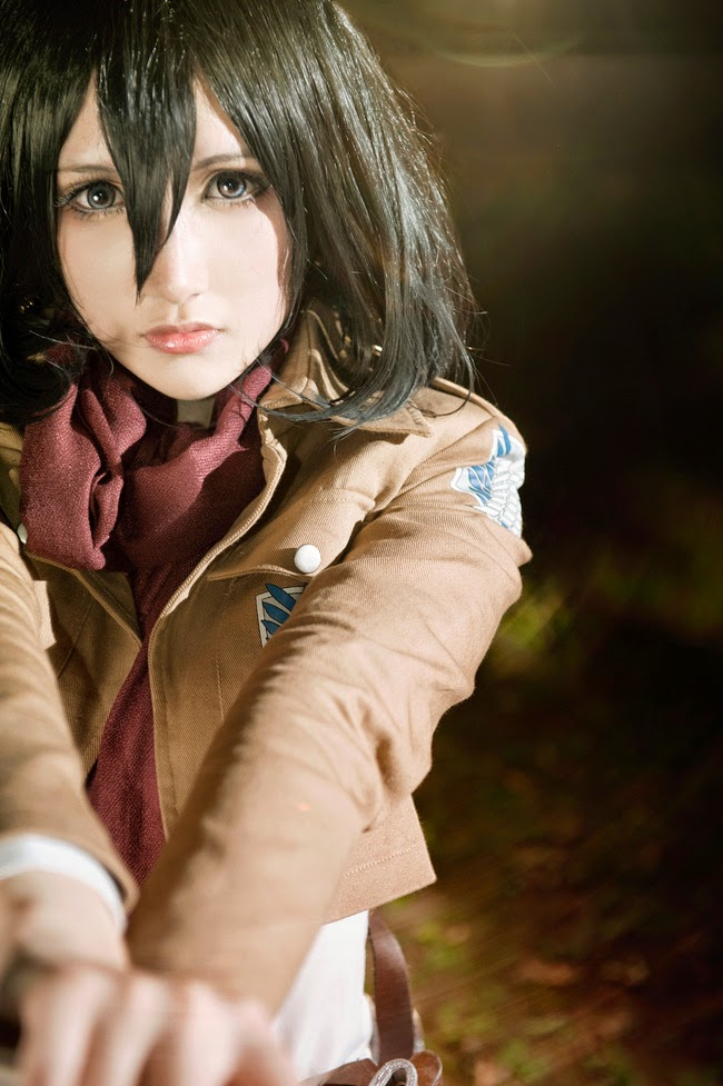 Enjoy Cosplay Attack On Titan Shingeki No Kyojin Mikasa