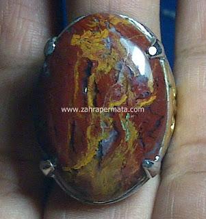 Cincin Batu Permata Panca Warna Garut - ZP 484