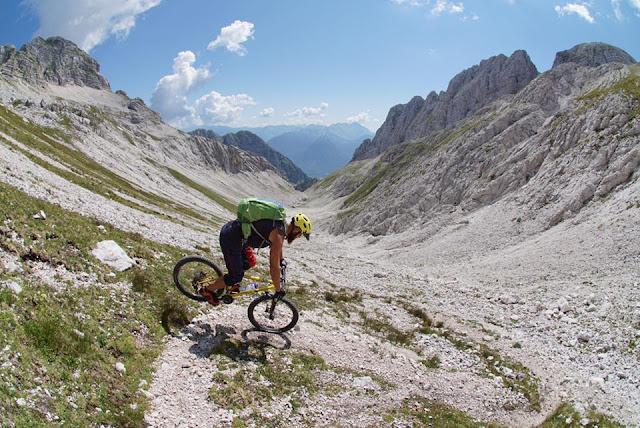 MTB Mountainbike Bovec Kanin