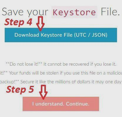 myetherwallet download keystore file