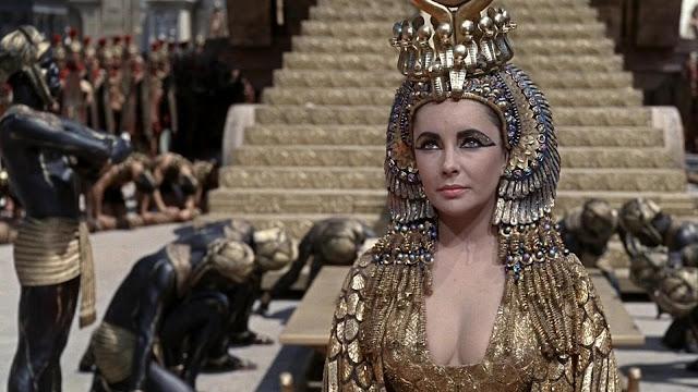 Cleopatra con Elizabeth Taylor