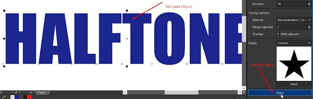 Membuat Efek Halftone dengan Pointillizer di CorelDraw 2018