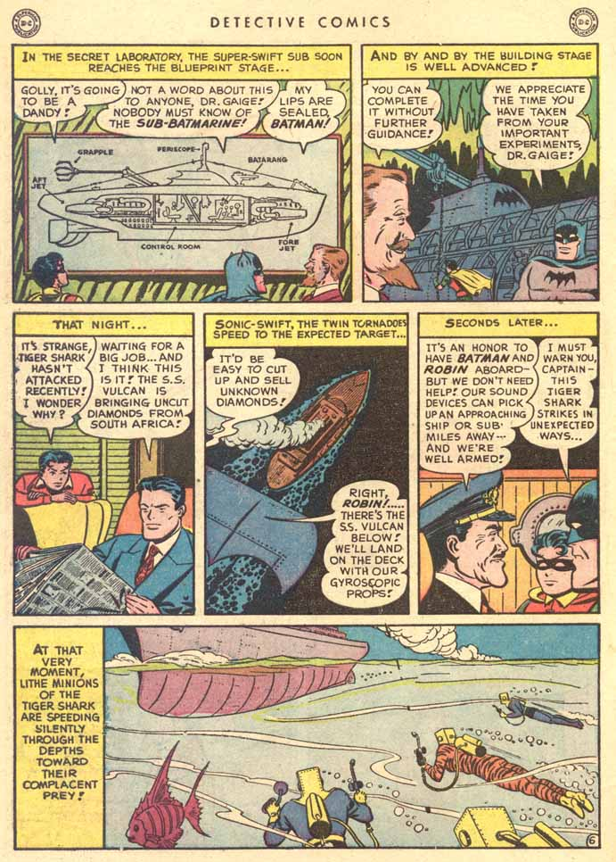 Read online Detective Comics (1937) comic -  Issue #147 - 8