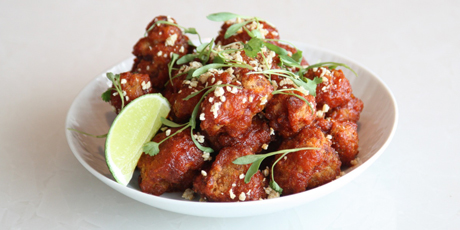 KOREAN FRIED CAULIFLOWER #healthy #vegetarian