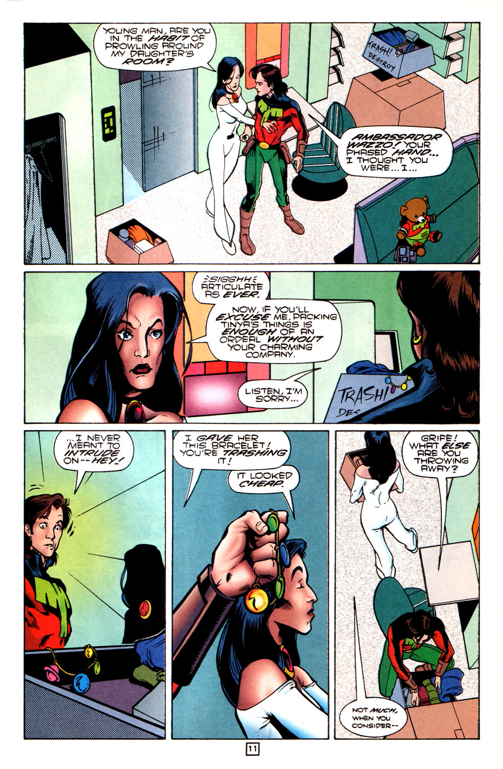 Legion of Super-Heroes (1989) 82 Page 11