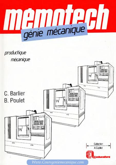 telecharger memotech genie mecanique en pdf gratuit - Commande numérique CNC - mécanique de précision - Fanuc
