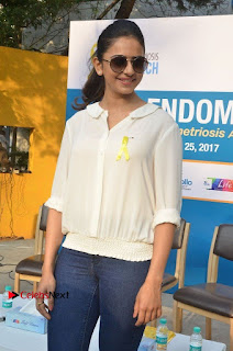 Actress Rakul Preet Singh at Endometriosis Awareness Walk at Apollo Cradle  0032.jpg