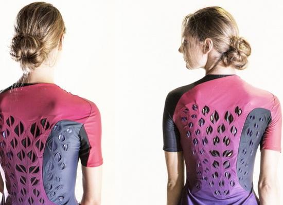Laporan Penelitian Tim MIT Mendesain Garmen Berventilasi Responsif Termal