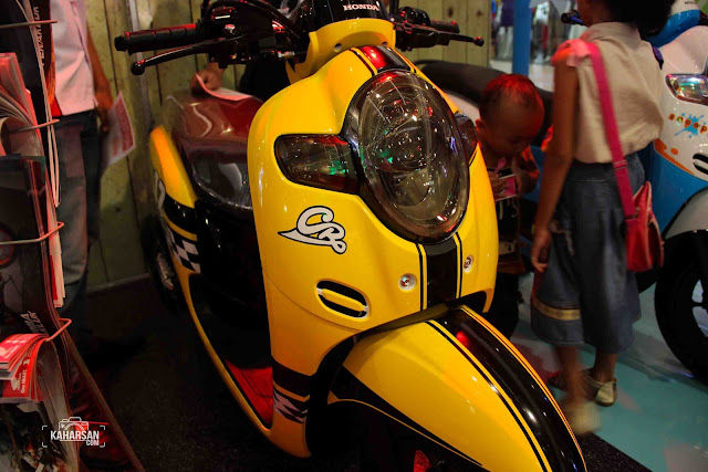 Model Sporty All New Honda Scoopy Pontianak | kaharsan