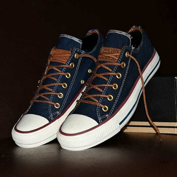 Sepatu Converse All Star Premium Blue Navy  CL-002   1c4528d37c