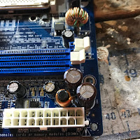 Capacitors to remove
