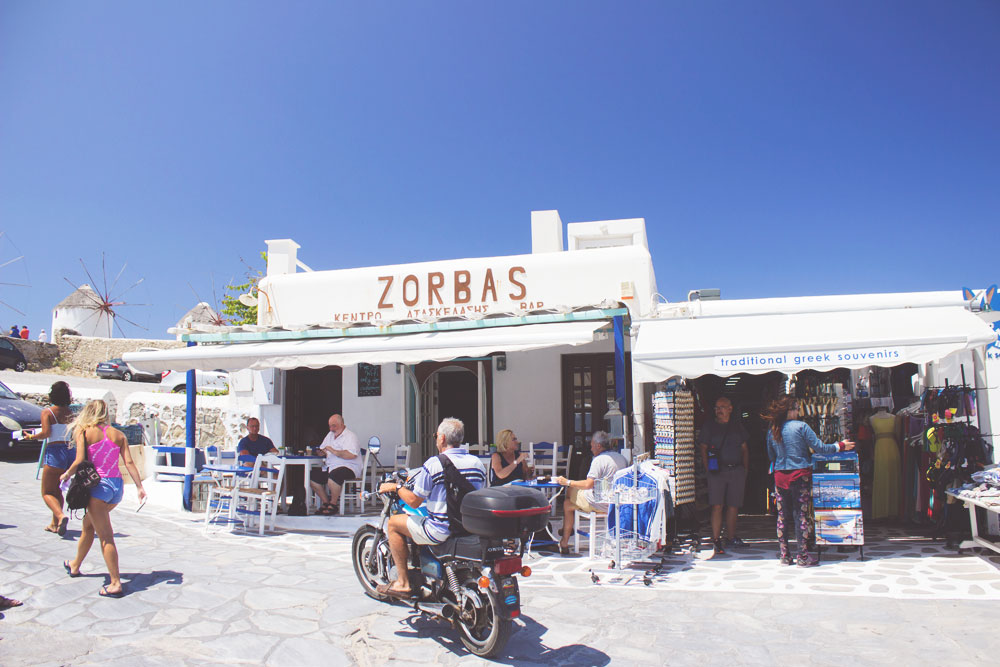 Beautiful Travel Architecture Building Photography | Mykonos, Greece Zorbas