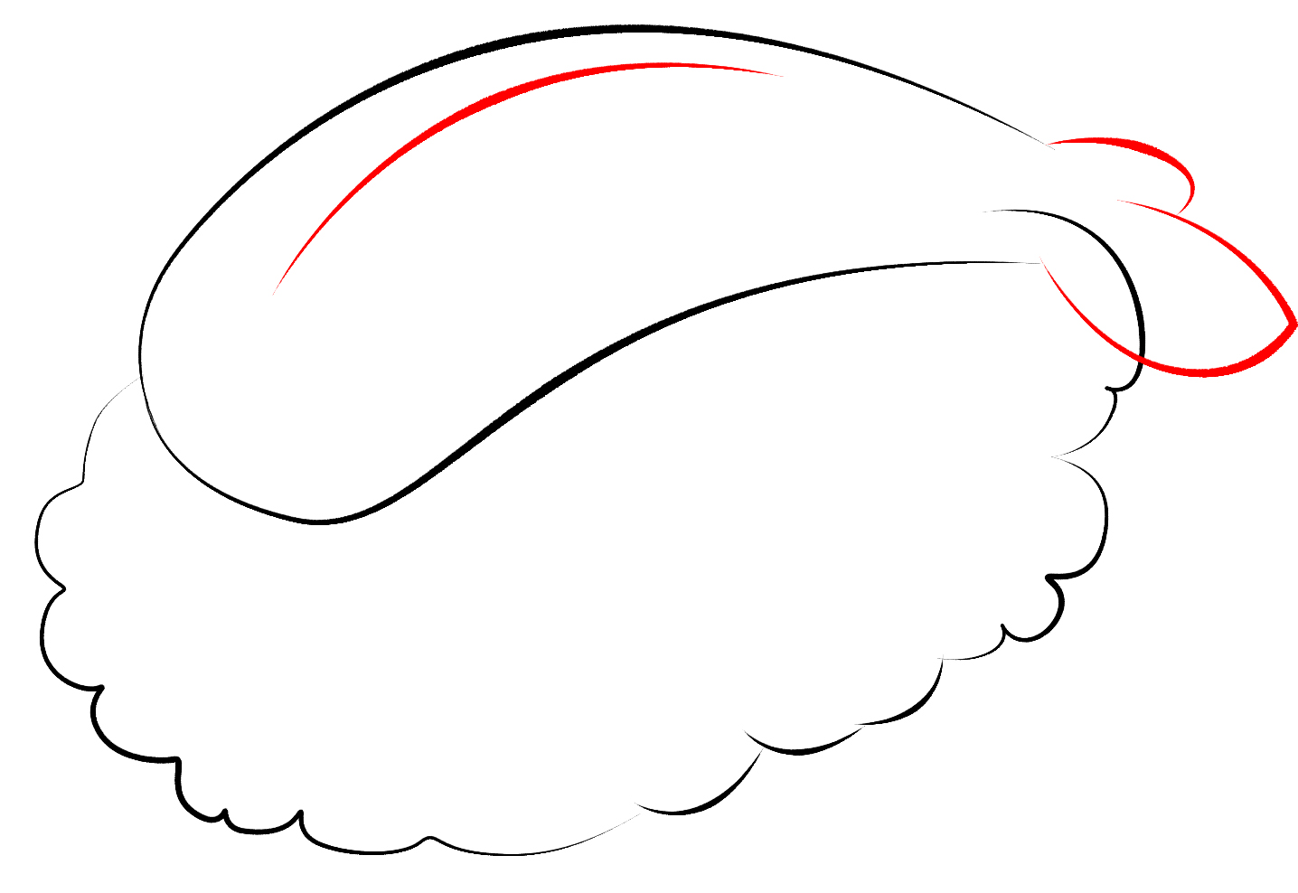 How To Draw Kawaii Sushi