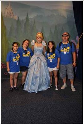 Cinderela no Magic Kingdom em Orlando - Florida