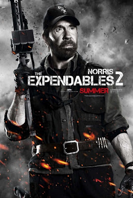 Chuck Norris The Expendables 2 2012