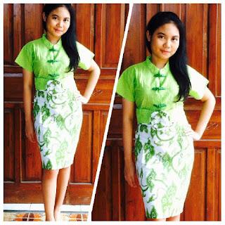 Batik Dress yang Kekinian dan Feminim