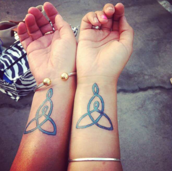 Small Tattoo Ideas For Mother And Daughter: 115+ Meaningful Mother Daughter Tattoos Ideas (2018