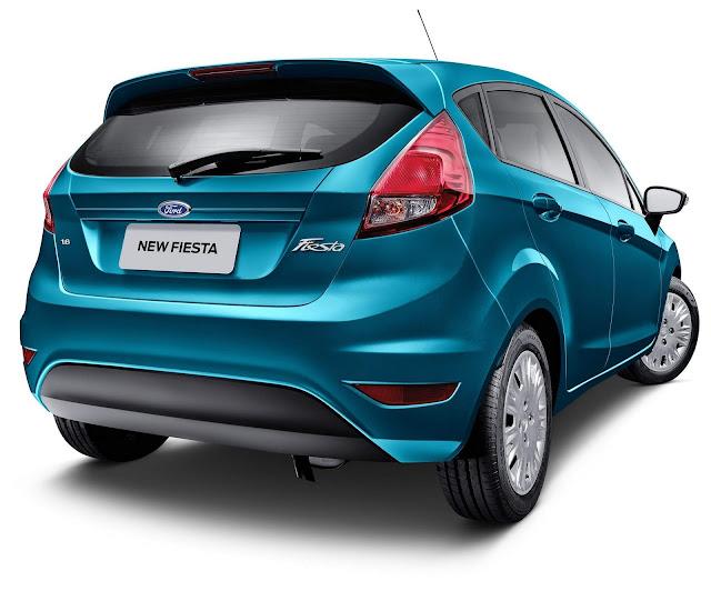 Ford New Fiesta 2018 Automático