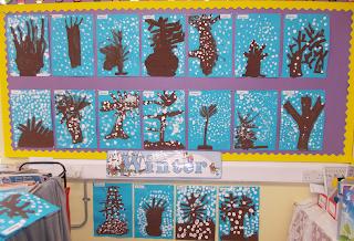 More Winter Art Ideas Little Miss Teacher Blog