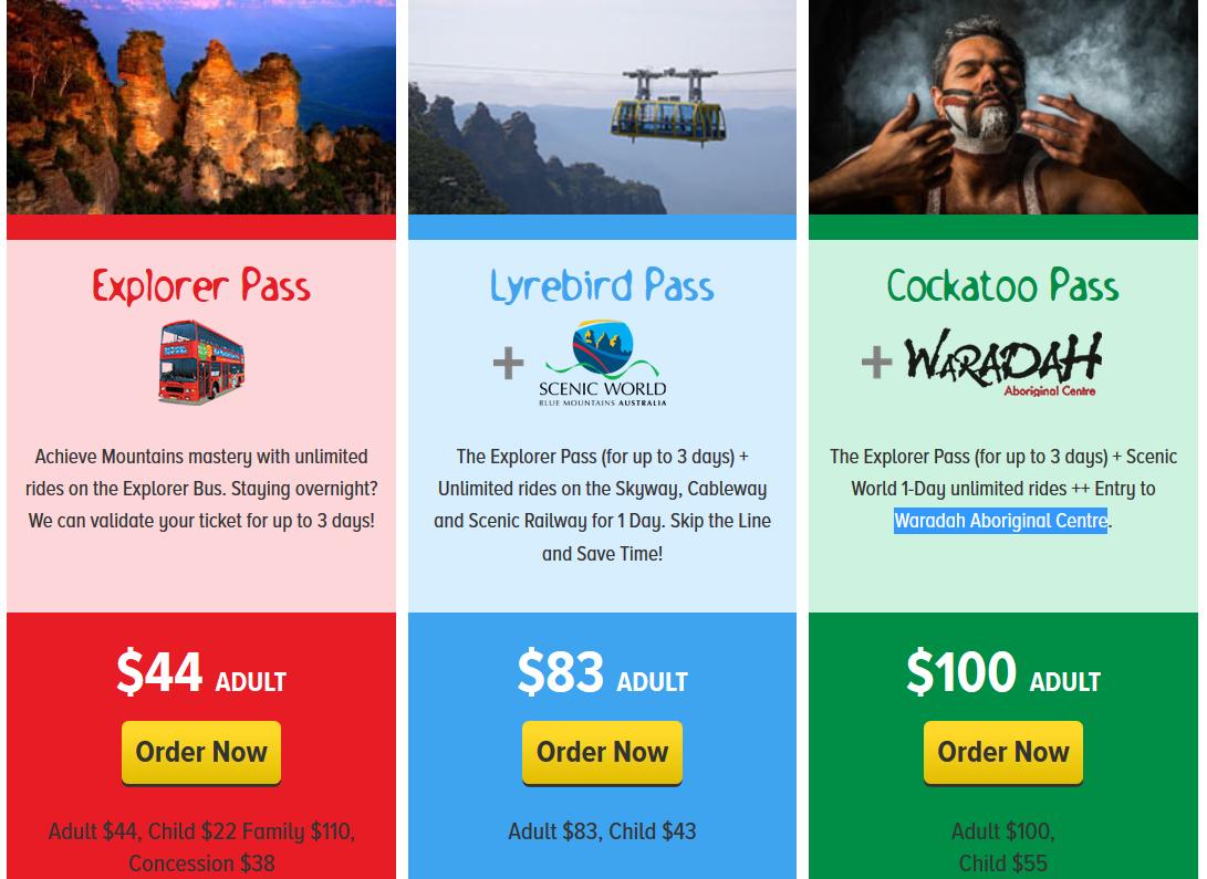 雪梨-景點-藍山-觀光循環巴士-Explorer-Bus-套票-景觀世界-自由行-澳洲-Sydney-Blue-Mountains-Tourist-Attraction-Travel-Australia