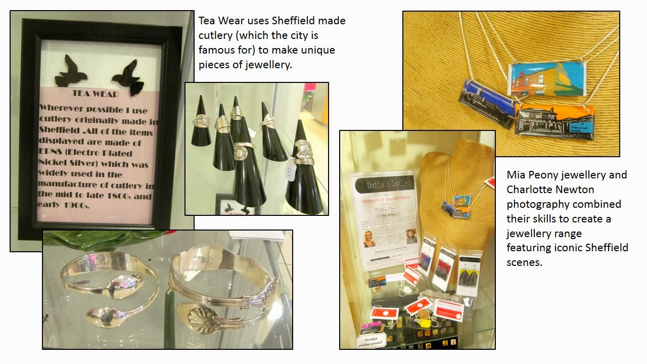 Sheffield jewellery at Bird's Yard