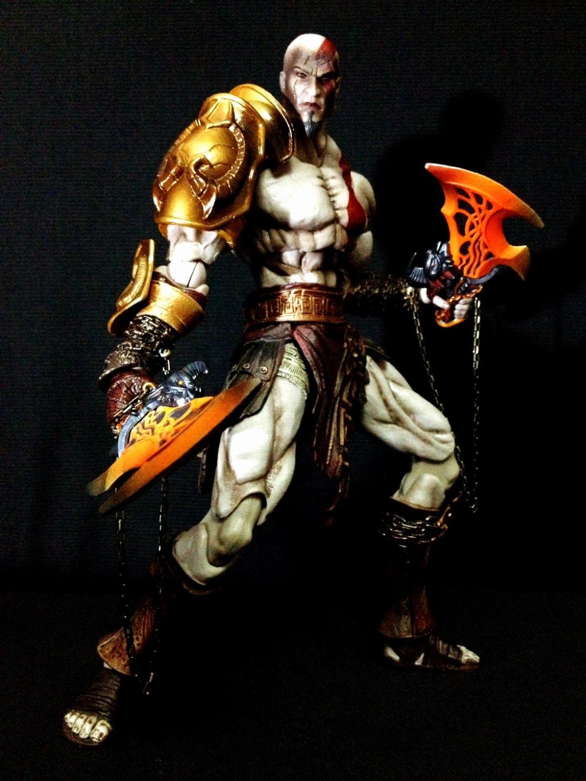 Combo's Action Figure Review: Kratos: God of War (Play ...