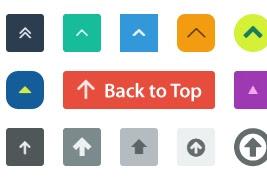 CARA MEMBUAT BACK TO TOP DENGAN CSS