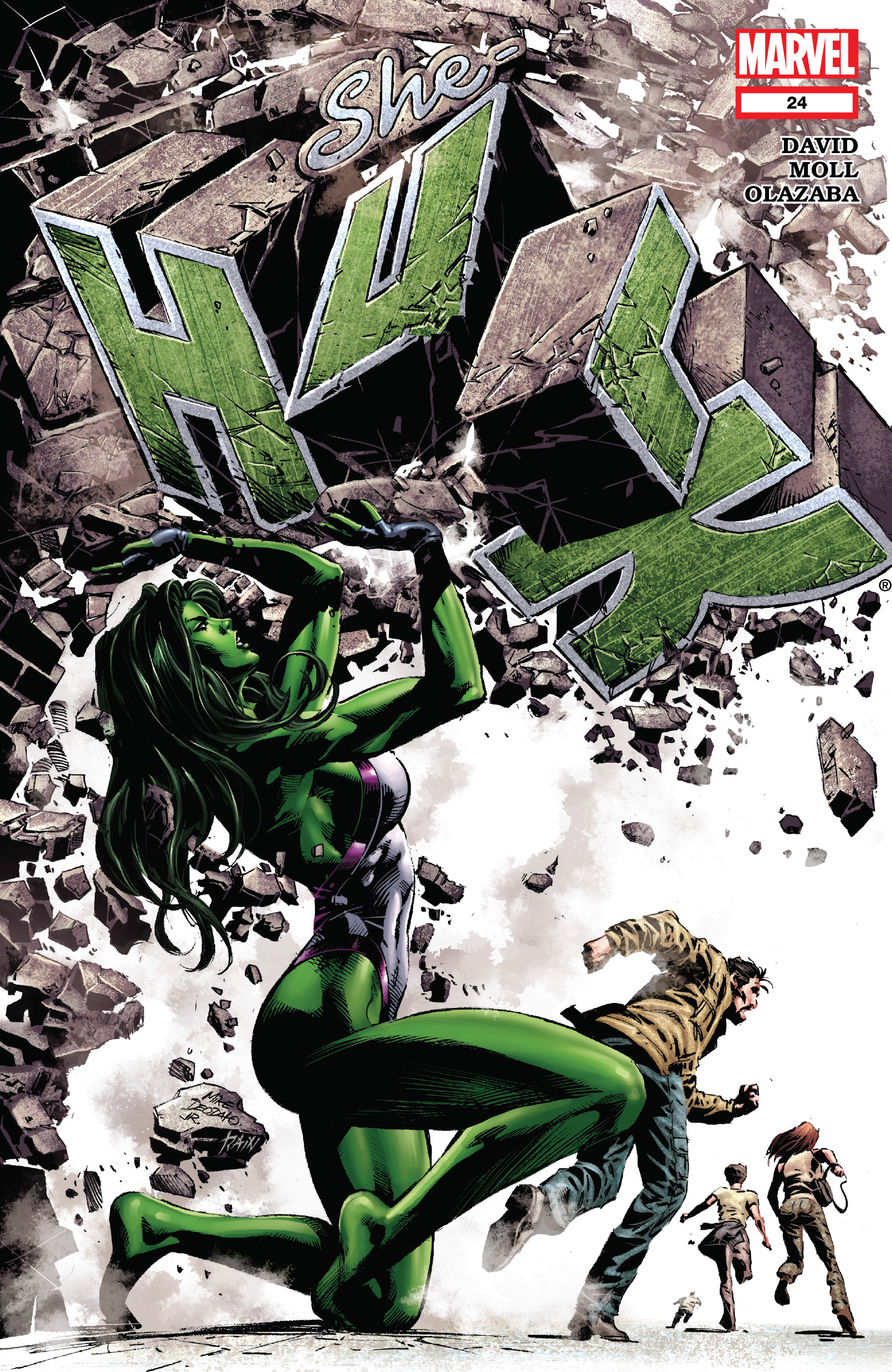 Read online She-Hulk (2005) comic -  Issue #24 - 1
