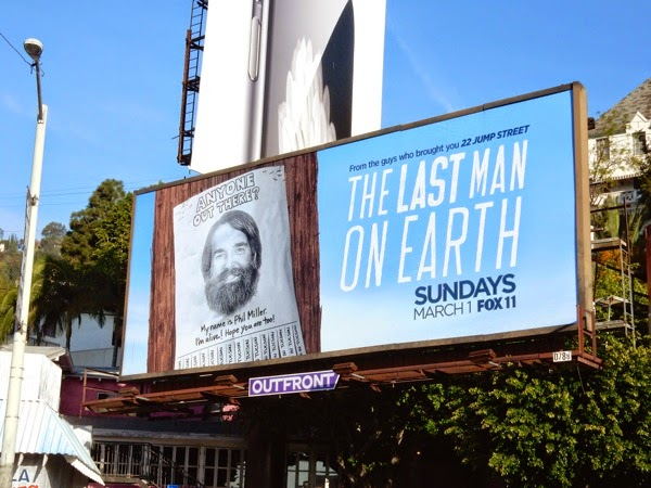 Last Man On Earth series billboard