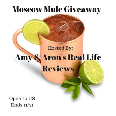 Enter the Moscow Mule Giveaway. Ends 11/21.