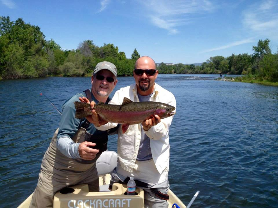 Fly fishing specialties august 2016 for Feather river fishing report