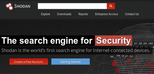 Shodan Search Engine.