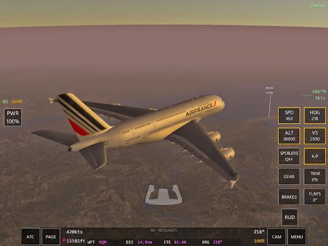A380 Infinite Flight
