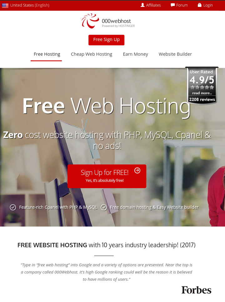 Best free hosting options