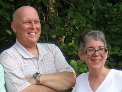 October 14th is Be Bald and Free Day. Here's the author with her bald and free brother, David.