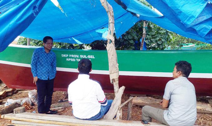 Pastikan Penerima Bantuan Perahu, Rajab Temui Kelompok Nelayan