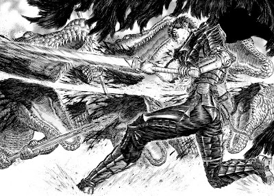 Kentaro Miura Berserk manga Young Animal abril