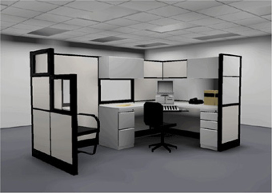 Office interior design dreams house furniture for Design your office online