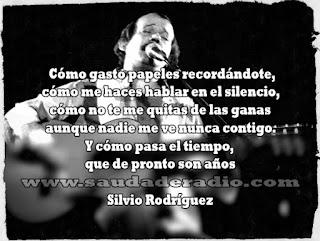 Frase de Te doy una cancion de Silio Rodriguez