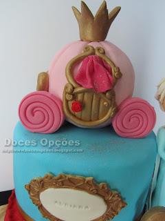 bolos carruagem princesas bragança