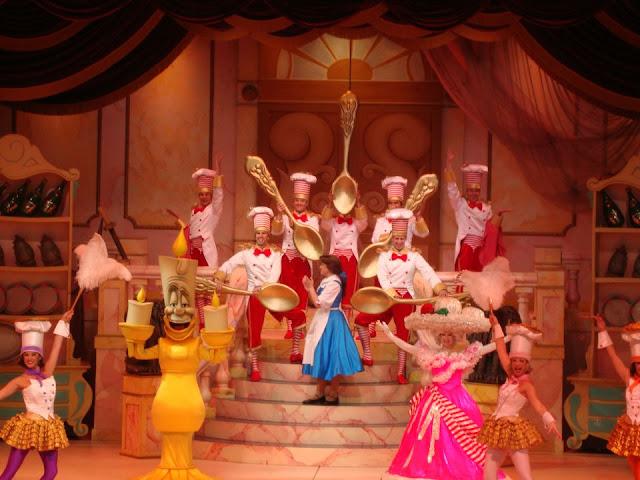 A Bela e a Fera - musical do Hollywood Studios
