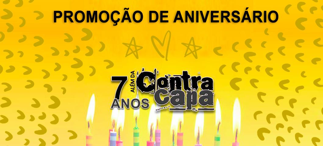 Sorteio de livros: 7 anos do blog Além da Contracapa | Promoção