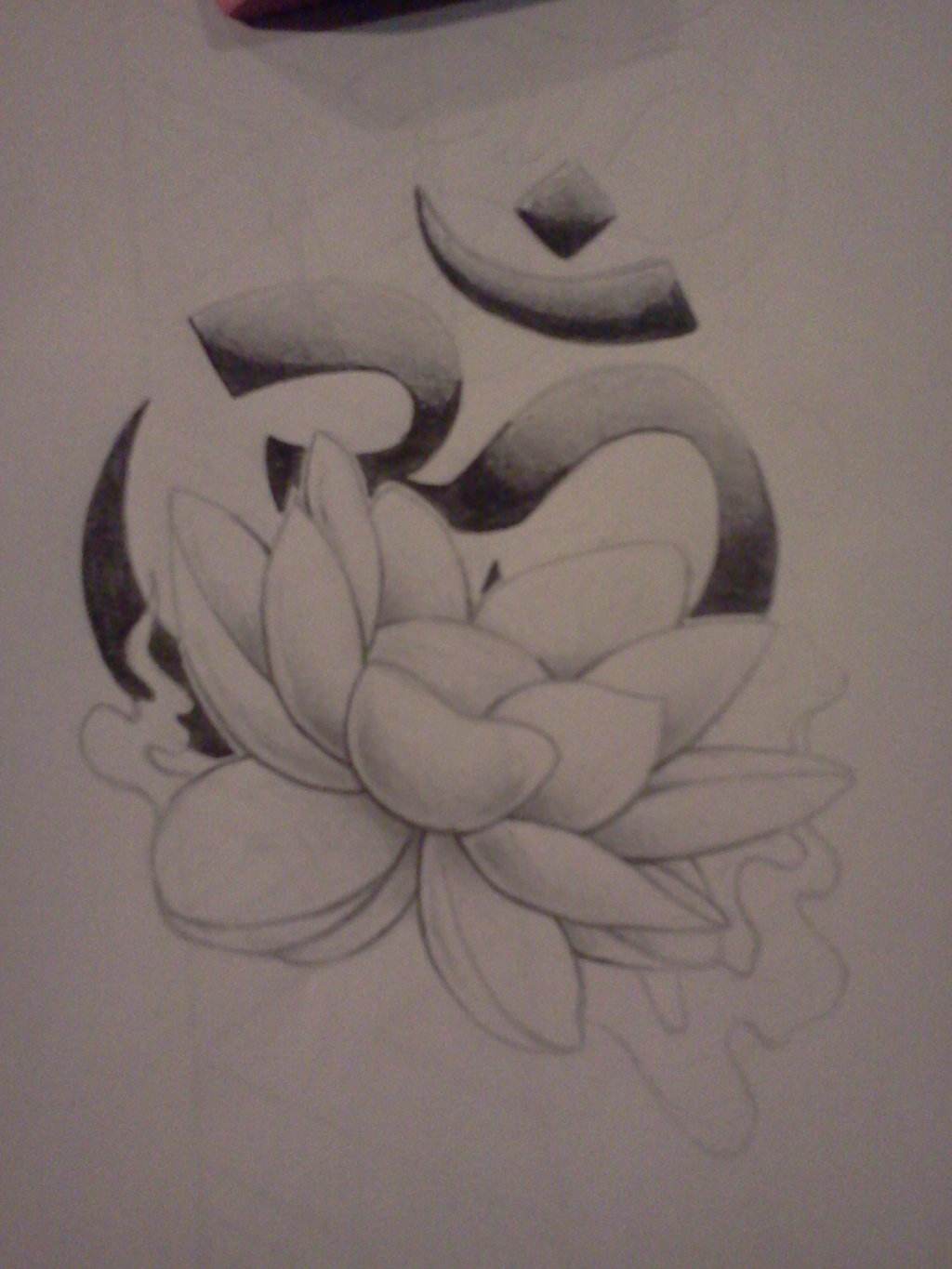Om With Lotus Flower Tattoo Designs Gardening Flower And Vegetables