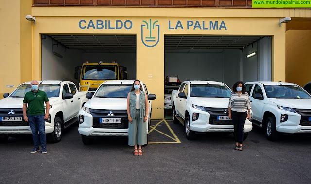 Medio Ambiente suma cuatro nuevos vehículos 4x4 para la campaña contra incendios